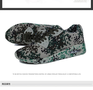 Running Shoes / Sneakers Couples Sport Athletic Outdoor Camouflage Breathable Shoes