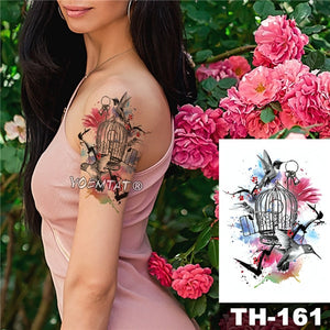 Waterproof Temporary Tattoo / Sticker. 8.26 X 5.82 inches