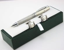 HIGH QUALITY STAINLESS STEEL BALLPOINT PEN NEW and Cufflinks