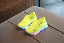 Kids Led Shoes Fashion Glowing Sneakers For Girls Boys Mesh Shoes Led Luminous Shoes