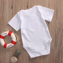 Matching Outfits fashion white Little Brother Baby Boy Romper Bodysuit gray Big Boy T-shirt Tee