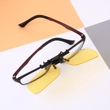 Polarized Clip Frame Night Vision Sight Driving Outer Lense Sunglasses