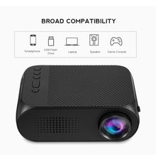 TOP Quality Mini Portable Projector 400 Lumens 320 X 240P Support 1080P