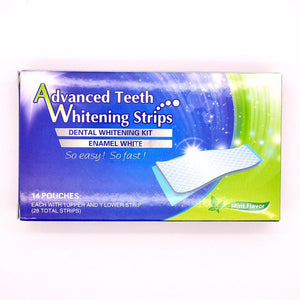 Professional Tooth Whitening Strips. Tooth Bleaching White strip Set.