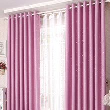 Shiny Stars Cloth Curtain Room Blackout 1pc 100X130CM