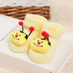 Infants / New Born Baby Girls / Boys Anti-Slip Socks