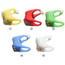 Outdoor Night Silicone Caution Light, Baby Stroller light LED Flash Baby Safety Caution Night Warning Lamp