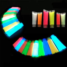 Neon Fluorescent Body Paint In The Dark Face Painting Luminous flash Acrylic Art glowing paint