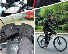 Winter Gloves / Thermal Windproof Warm Full Finger Glove Anti-slip, Bike, Bicycle Gloves.