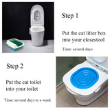 New Convenient Pet Toilet Trainer Cat Toilet Trainer. Cat Training supplies about 40*40*3.5cm