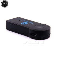 Handfree Car Bluetooth Music Receiver Universal 3.5mm Streaming A2DP Wireless AUX Audio Adapter With Mic