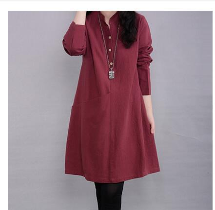 Maternity Long Dress / Nursing Dress for Pregnant Women. COMFORTABLE Pregnancy dress Sizes M - XXL.