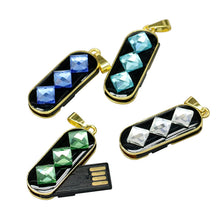 Jewelry.. Mini USB Stick 2.0 Pen drive / USB Flash Drive Real Capacity Crystals. Pen drive 64GB / 8GB / 16GB / 32GB / 64GB / 128GB