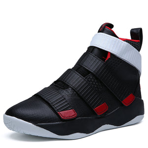Men's Basketball Shoes High Top Ankle Sneakers Anti-Skid Athletic Basketball Games Sneakers Trainers Sport Shoes For Men