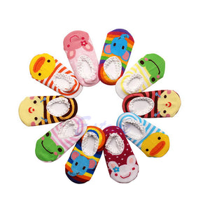 New Born / Toddler Girl / Boy Anti-Slip Socks Shoes Slipper 6-24 Months
