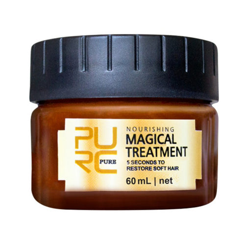 Professional / Magical Treatment Mask 5 minute Repairs Damaged hair, Restore Soft For All Hair Types Hair and Scalp Treatment.