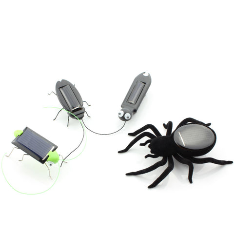 Solar Panel Powered Cockroach / Insect