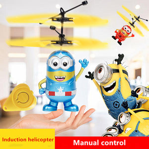 Flashing Flying helicopter Hand Control RC Toys Helicopter with LED