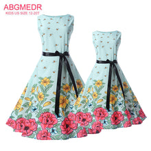 Mother Daughter Dresses Summer New Teen Girls Dress / Children Clothes Kids Family Matching Outfits