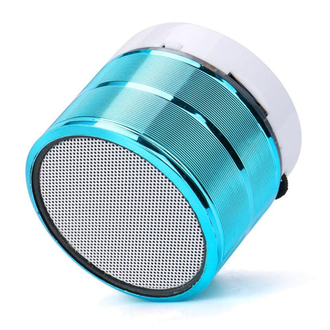 New Super Bass Mini Portable Bluetooth Handsfree Wireless Speaker With LED