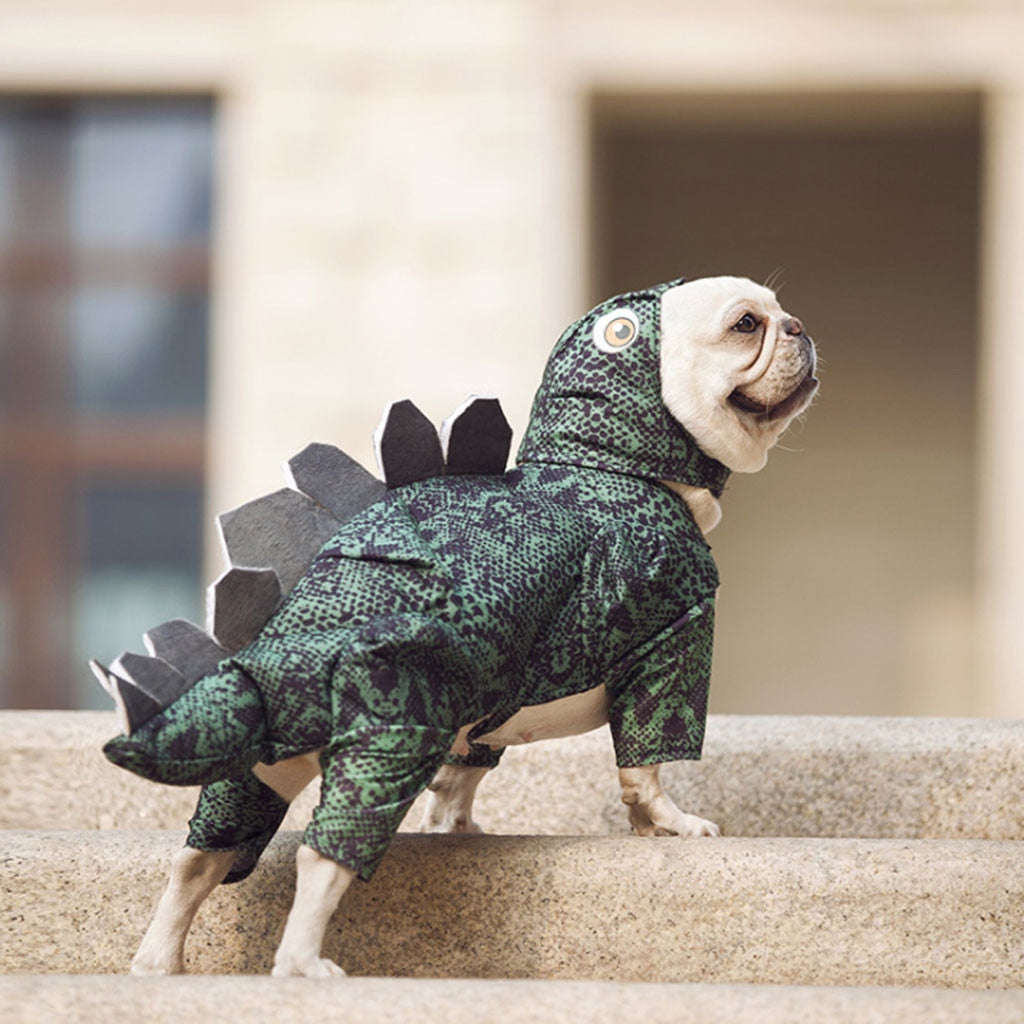 Pet Dog / Cat Clothes Cute Funny Dinosaur Costumes