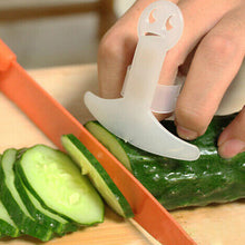 Plastic white Knife Cutting Finger Guard, Protects your Finger / Hand from injury / Hurt / Cut vegetable, Meat size 6x4cm