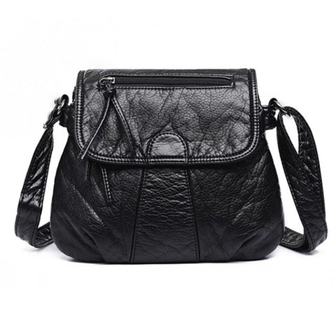 Ladies Messenger Bags Crossbody Soft PU Leather Shoulder Bag, High Quality Fashion