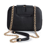 Summer New Fashion Women Shoulder Bag Chain Strap Flap Messenger Bag Designer Handbag Clutch Bag With Metal Buckle