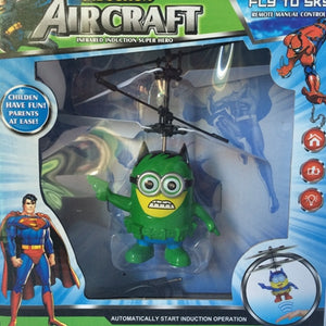 Remote Control RC Helicopter Flying  Quadcopter Drone Ar.drone Kids Toy