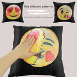 Reversible Pillow Case Changing Face Cushion Cover Decorative Pillowcase Sofa Home Decor