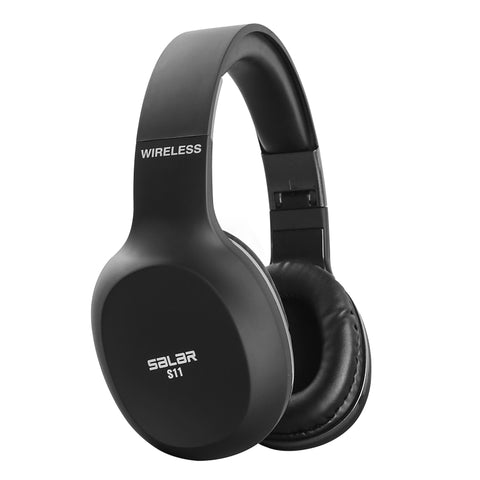 Wireless Headset Folding Bluetooth Headphone best for Gaming. Headphone with Mic for Phones, Tablets, Computers etc.
