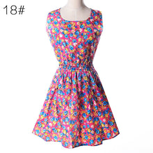 Summer Style Floral Print Plus Size Casual Women Dress