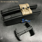 Tactical Black Color ABS 7.5x6x4.5cm Adjustable Coupler for Mag