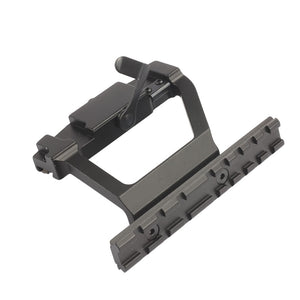 Tactical Heavy Duty Army Grade AK series side rail lock scope sight mount quick QD Style 20 mm Detach Rail Base Accessories