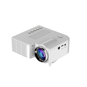 US Plug USB Portable UC28 PRO HDMI Mini LED Projector Home Cinema Theater AV VGA XXM8