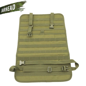Universal Tactical MOLLE Car Seat Back Organizer military MOLLE Panel Vehicle Seat Cover Protector Kit