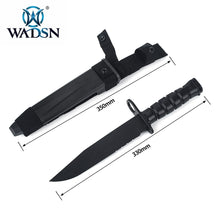 Outdoor Granada Airsoft Paintball Field Cosplay Plastic Knife Model US Army Tactical Training M10 Rubber Dummy Dagger