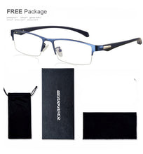 Progressive Multifocal glasses Photochromic reading glasses Flexible Temples Legs Half Frame