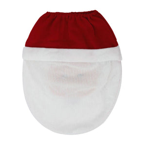 Happy Santa Toilet Seat Cover 1PC Christmas decorations