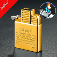 ZORRO Stainless Steel original Copper lighter inner insert two Direct Punch flames Core tank