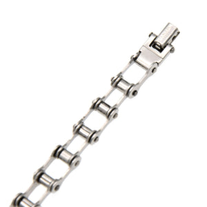 fashion lychee Biker Bicycle Motorcycle Chain Bracelet Titanium Steel Bracelet Fashion Jewelry
