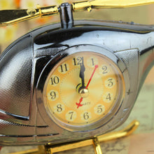 Helicopter Alarm Clock. Desk Clock. Bedside Alarm Clock, Watch. Elegant show piece with clock.