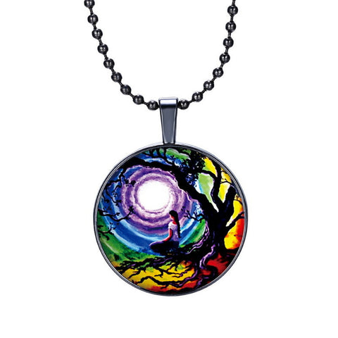Vintage Multicolor 2017 Fashion Necklace.