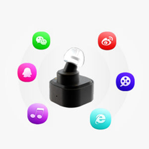 High Quality K1 Singal Ear Mini Two In One Charging Bluetooth Headset, Noise Canceling Earphones.