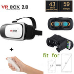 VR BOX II. 2 Virtual Reality Video, Movie, Game, Headset + Bluetooth Remote Controller