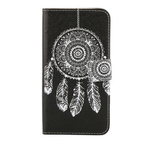 Leather Flip Wallet For Samsung Galaxy S7, S6, edge, Plus, S5, S4, S3, Note 5, 4, 3, with Stand.