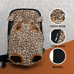 Dog Carrier Backpack Super Breathable and Durable, washable.