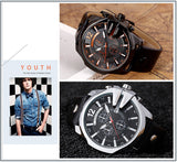 Men's Sports Quartz Watch Top Brand Luxury Designer Watch.