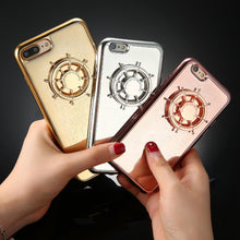 Luxury Mirror Cover Case For iphone 7, 6, 6s, Plus, With Fidget Spinner.