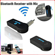 Handsfree Car Bluetooth, Music Receiver, Universal connection.